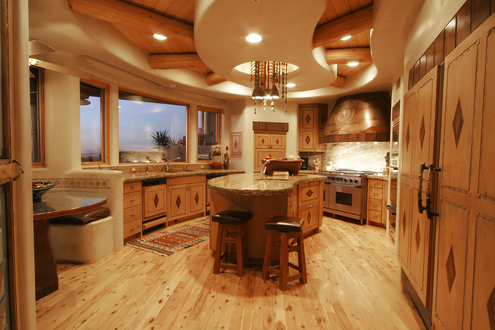 Donco designs is a pompano beach remodeling contractor for Log home kitchen designs