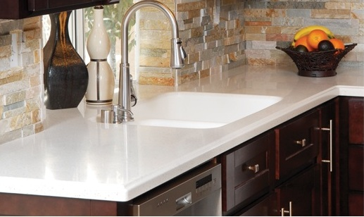 solid surface countertop - Donco Designs