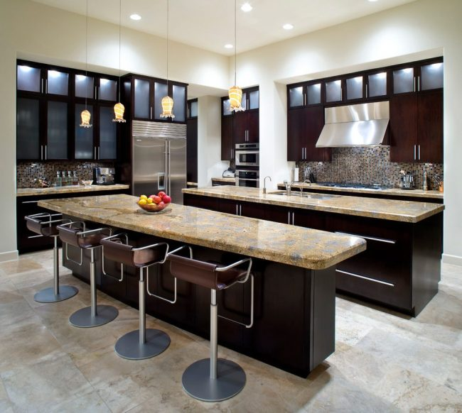 Double Kitchen Islands Your